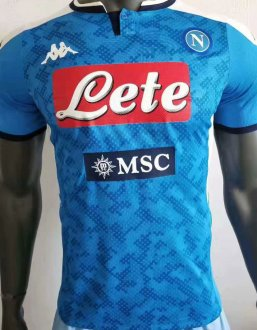 2019/20 Naples Home Blue Player Soccer Jersey