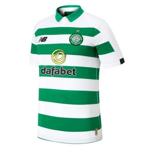 19/20 Celtic Home Green And White Fans Soccer Jersey