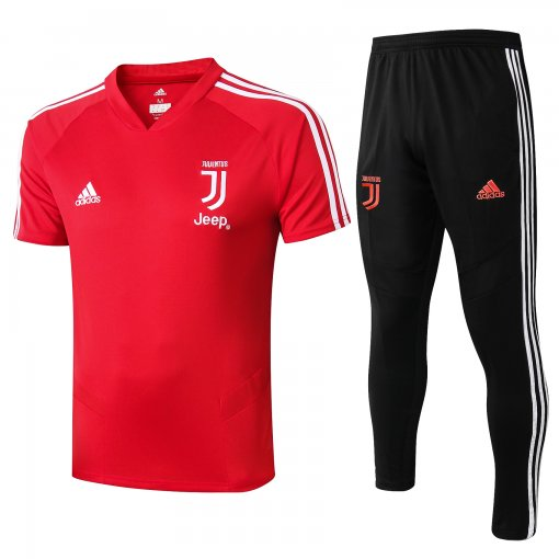 2019/20 JUV V collar Red Tracksuit