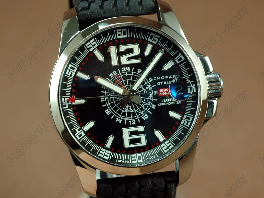 ショパールChopard watches Mile Milgia GT GMT SS/LE Black A23JショパールChopard Mile Miglia GMT自動巻