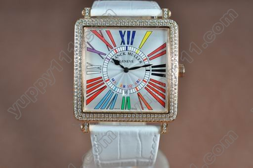 フランクミューラーFranck Muller Men Master Square RG/LE C-Colours A-21J自動巻き