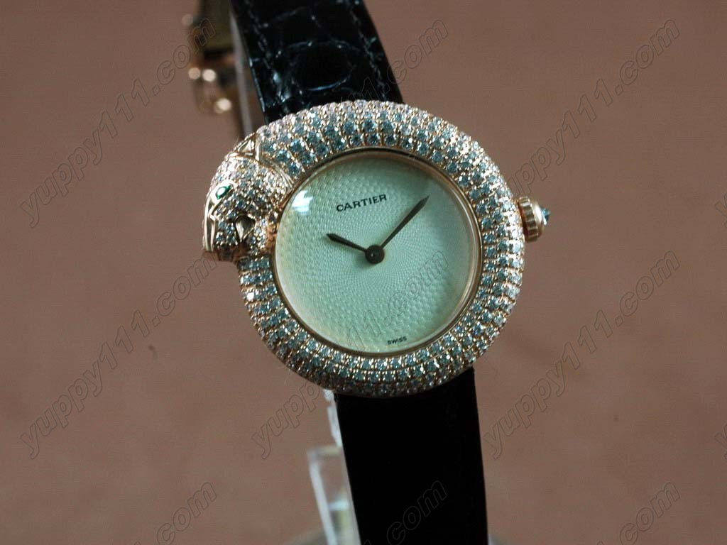 カルティエCartier Panthere de Cartier Ladies RG/LE Silkクオーツ
