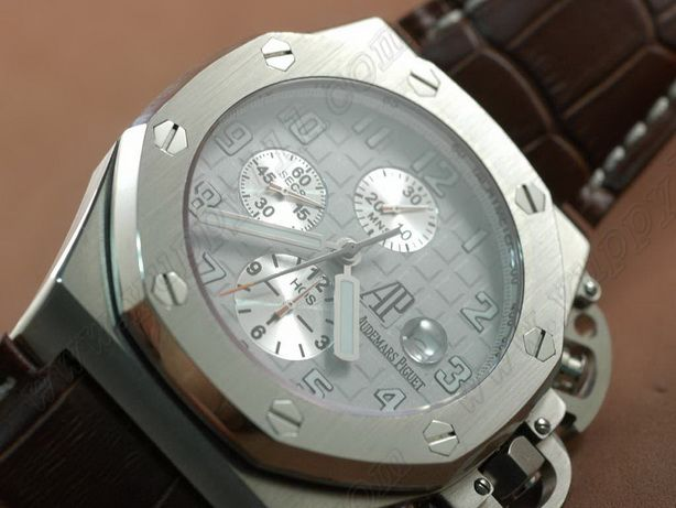 オーデマ・ピゲAudemars Piguet T3 Royal Oak Chrono SS/LE Light White Asia 7750自動巻き
