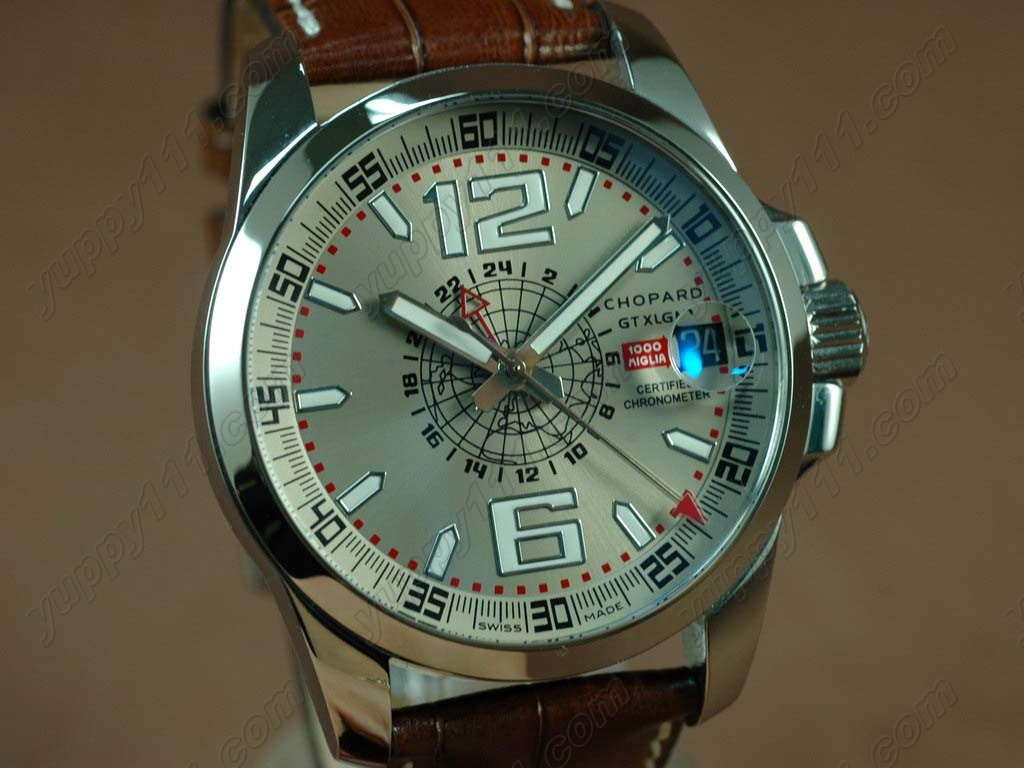 ショパールChopard Mile Milgia GT GMT SS/LE Grey A23J自動巻