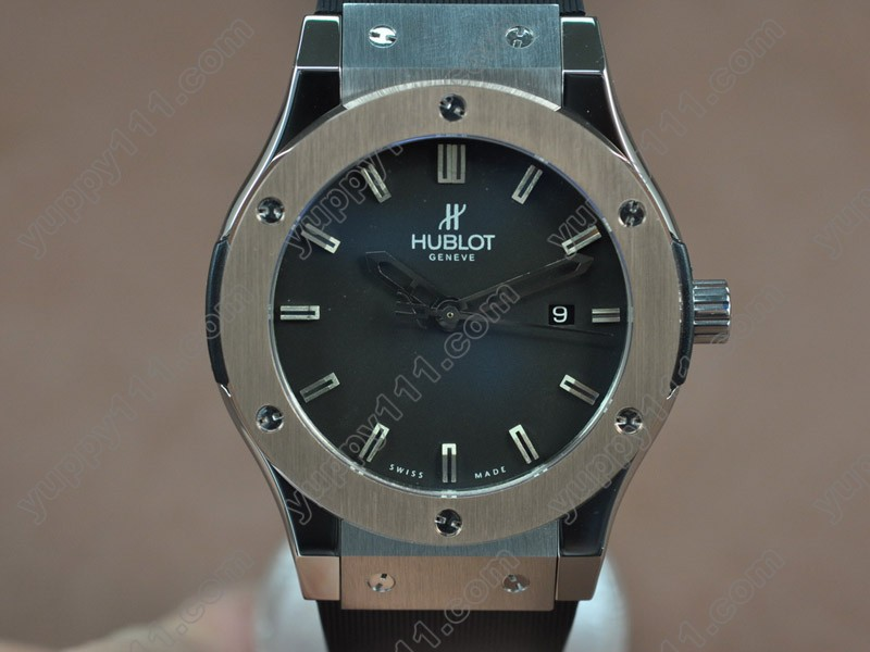 ウブロHublot Big Bang 45mm TT/RU Black Asia Eta 2824-2 Auto自動巻き
