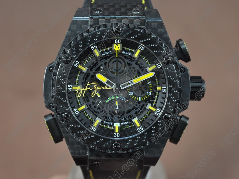 ウブロHublot Big Bang King Power F1 Limited Carbon case Black A-7750自動巻き