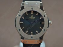 ウブロHublot Big Bang 45mm RG/RU Black dial Asia Eta 2824-2 Auto自動巻き
