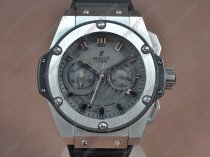 ウブロHublot Big Bang King Power SS/RU Black dial Asia自動巻き