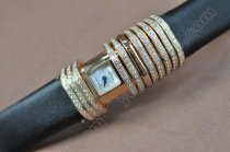 カルティエCartier Ladies Declaration RG Diam Swiss Qtクオーツ