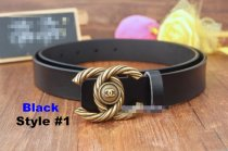 Fashion Retro Women Black Brown Real Leather Belt Waist Band Adjustable