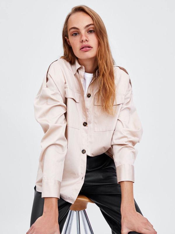671c21f5d7 Single-Breasted Loose White Shirt For Women | Selerit.com