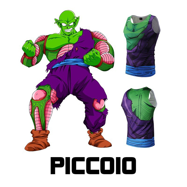 41adcf1269a2eb Piccolo Dragon Ball Z Compression Short Vest