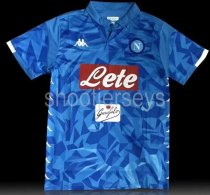 Thai Version Napoli 18/19 Home Soccer Jersey