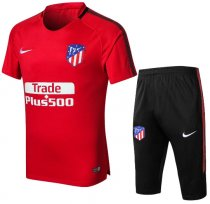 Atletico Madrid 18/19 Training Jersey and Short Kit - Red