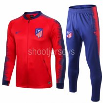 Atletico Madrid 18/19 Jacket and Training Pants - Red