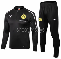 Borussia Dortmund 18/19 Training Top and Pants - Black