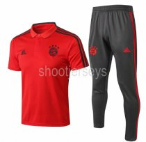Bayern Munich 18/19 Training Polo and Pants - 001