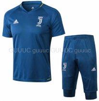 Juventus 18/19 Training Jersey and Short Kit - Blue
