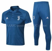 Juventus 18/19 Training Polo and Pants - Blue