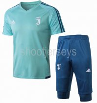 Juventus 18/19 Training Jersey and Short Kit - Green