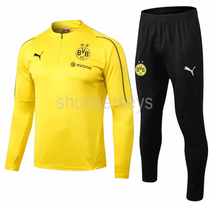 Borussia Dortmund 18/19 Training Top and Pants - Yellow