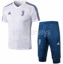 Juventus 18/19 Training Jersey and Short Kit - White