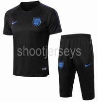 England 2018 Training Jersey and Short Kit - Black