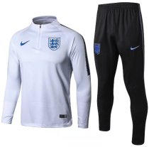 England 2018 Soccer Training Top and Pants - White