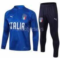 Italy 2018 Soccer Training Top and Pants - 001