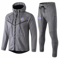 Chelsea 18/19 Hoodie and Pants - Grey