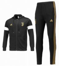 Juventus 18/19 Hoodie and Pants - Black