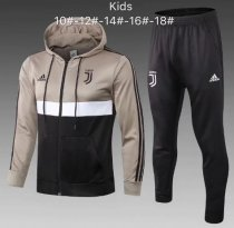 Juventus 18/19 Kids Hoodie and Pants - 001