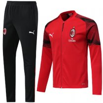 AC Milan 19/20 Jacket and Training Pants - Red