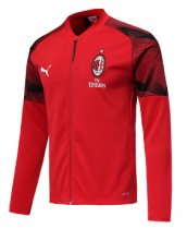 AC Milan 19/20 Sports Jacket - Red