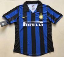 Thai Version Inter Milan 1998 Retro Home Soccer Jersey