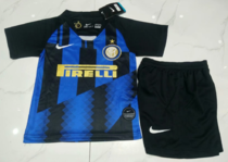 Inter Milan 20th Anniversary Edition Kids Home Soccer Jersey and Short Kit