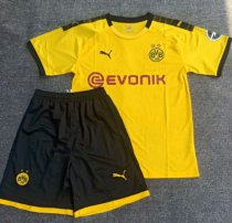 Borussia Dortmund 19/20 Home Soccer Jersey and Short Kit