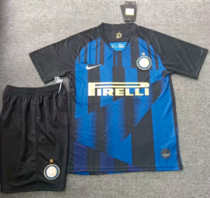 Inter Milan 20th Anniversary Edition Soccer Jersey and Short Kit