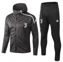 Juventus 18/19 Hoodie and Pants - Grey