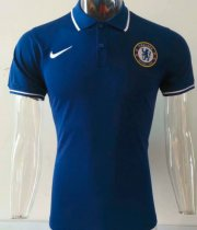 Chelsea 19/20 Training Polo - Blue