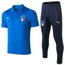 Italy 2019 Training Polo and Pants - Blue