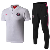 Paris Saint-Germain 19/20 Polo and Pants - LightGray