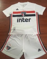 Sao Paulo 19/20 Kids Home Soccer Jersey and Short Kit