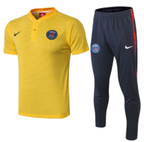 Paris Saint-Germain 19/20 Polo and Pants - Yellow