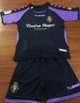 Valladolid 19/20 Kids Away Soccer Jersey and Short Kit