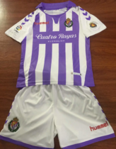 Valladolid 19/20 Kids Home Soccer Jersey and Short Kit