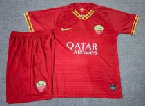 AS Roma 19/20 Home Soccer Jersey and Short Kit