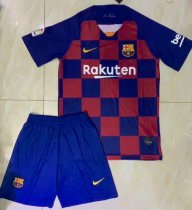 Barcelona 19/20 Home Soccer Jersey and Short Kit