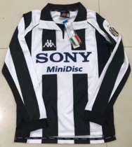 Thai Version Juventus 1997-1998 Retro LS Home Soccer Jersey