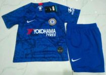 Chelsea 19/20 Kids Home Soccer Jersey and Short Kit